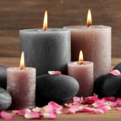 All wax, soy, and decorative candles offered by California Decor Store