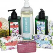All Liquid, hand, bath, shower, bar, and powder soap products at California Decor Store