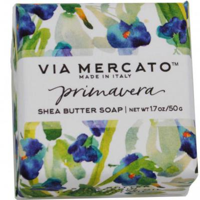 Via Mercato Soap Primavera Spring Flowers Gift Set Box Sunkissed Snowdrops