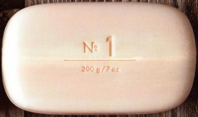 Via Mercato No.1 Soap Bergamot, Patchouli, Rosewood Unwrapped
