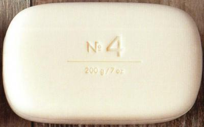 Via Mercato Soap No.4 Violets, Magnolia, Amber 200 gram Bath Bar Unwrapped
