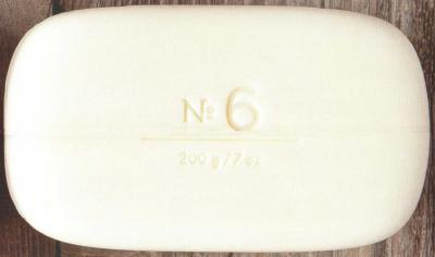 Via Mercato Soap No.6 Fig, Orange Blossom, Cedarwood 200 gram Bath Bar Unwrapped