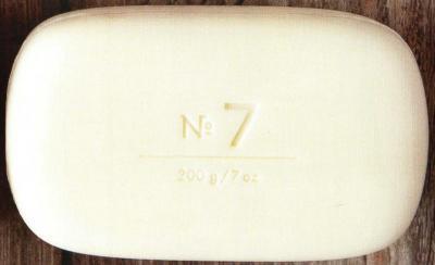 Via Mercato Soap No.7 Peach, Fig Blossom and Rose 200 gram Bath Bar Unwrapped