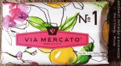 Via Mercato Soap No.1 Bergamot Patchouli Rosewood 200 gram Bath Bar